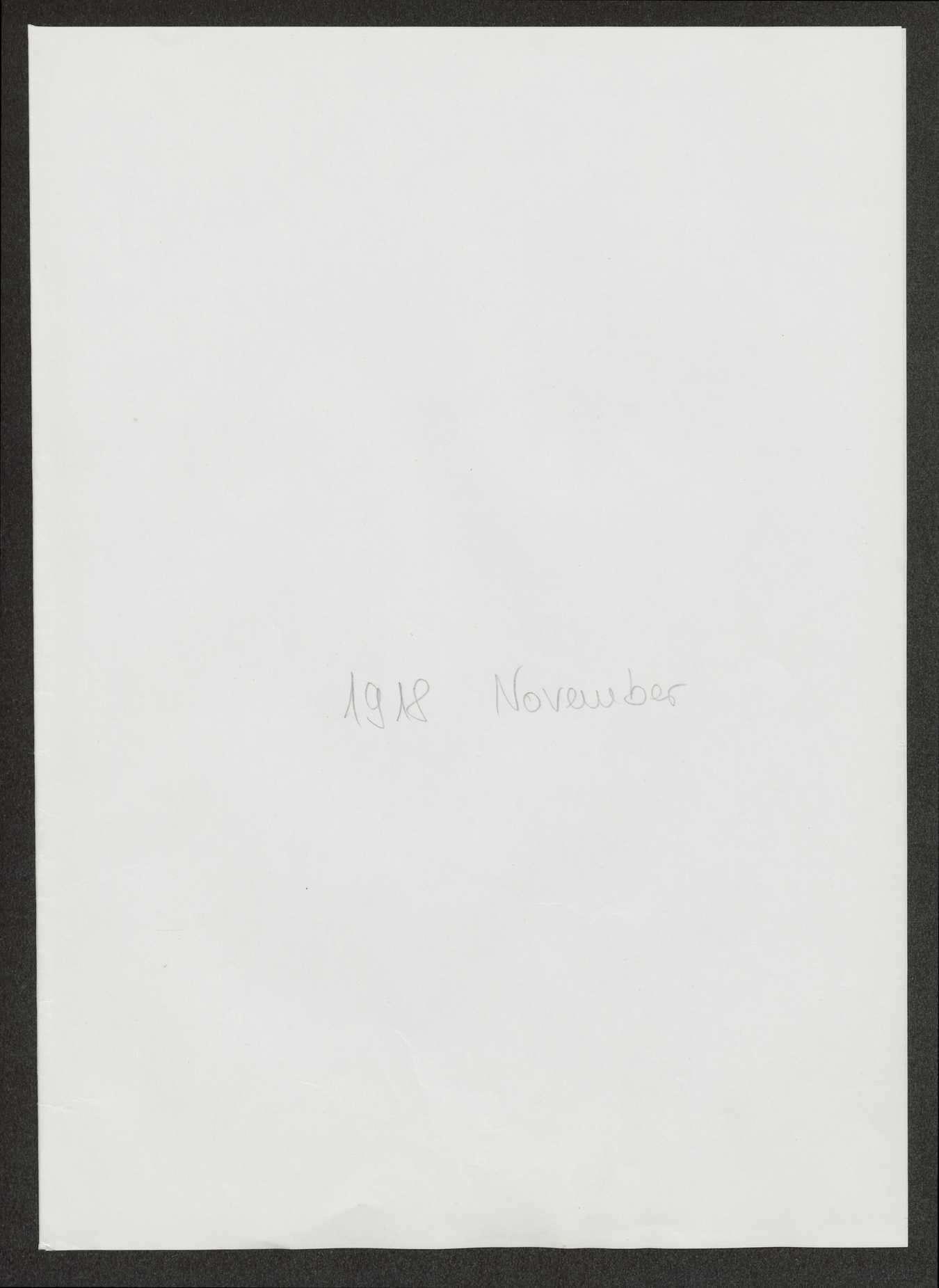 Bataillonsbefehle des Ersatz-Bataillons des Infanterie-Regiments Nr. 475, Bild 1