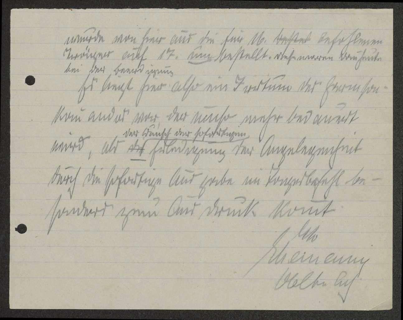 Klärung der Beschwerde des Reserve-Lazaretts III Tübingen über das Ausbleiben einer für eine Beerdigung bestellten militärischen Abordnung, Bild 3