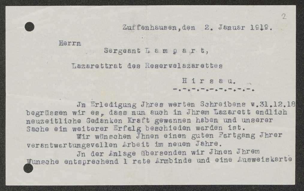 Unterstellung von Hirsau unter den Garnisonrat, Angriffe gegen den Garnisonratsvorsitzenden, Aufhebung des Garnisonrats Zuffenhausen, Bild 1