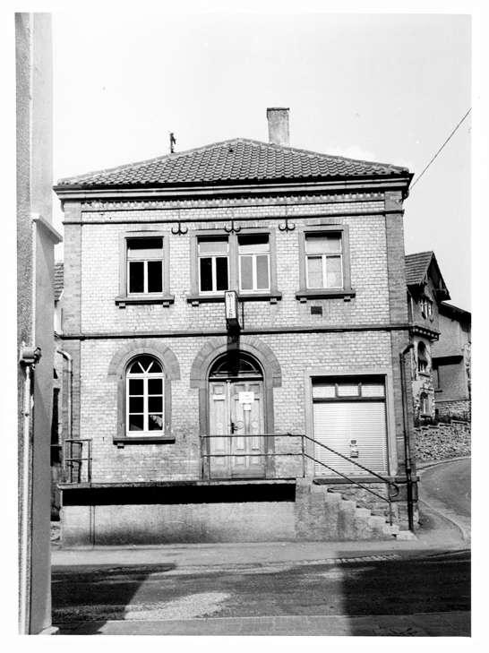 Adelsheim, MOS; Ehemalige Synagoge, Vorderansicht, Bild 1