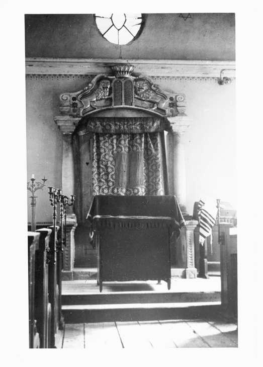 Billigheim, MOS; Synagoge, Innenansicht, Bild 1