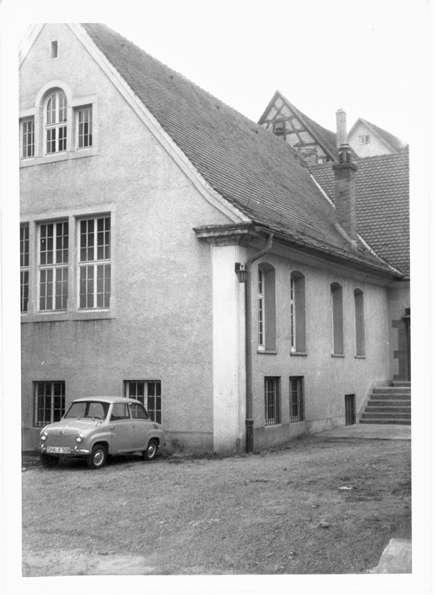 Braunsbach, SHA; Ehemalige Synagoge, Außenansicht, Bild 1
