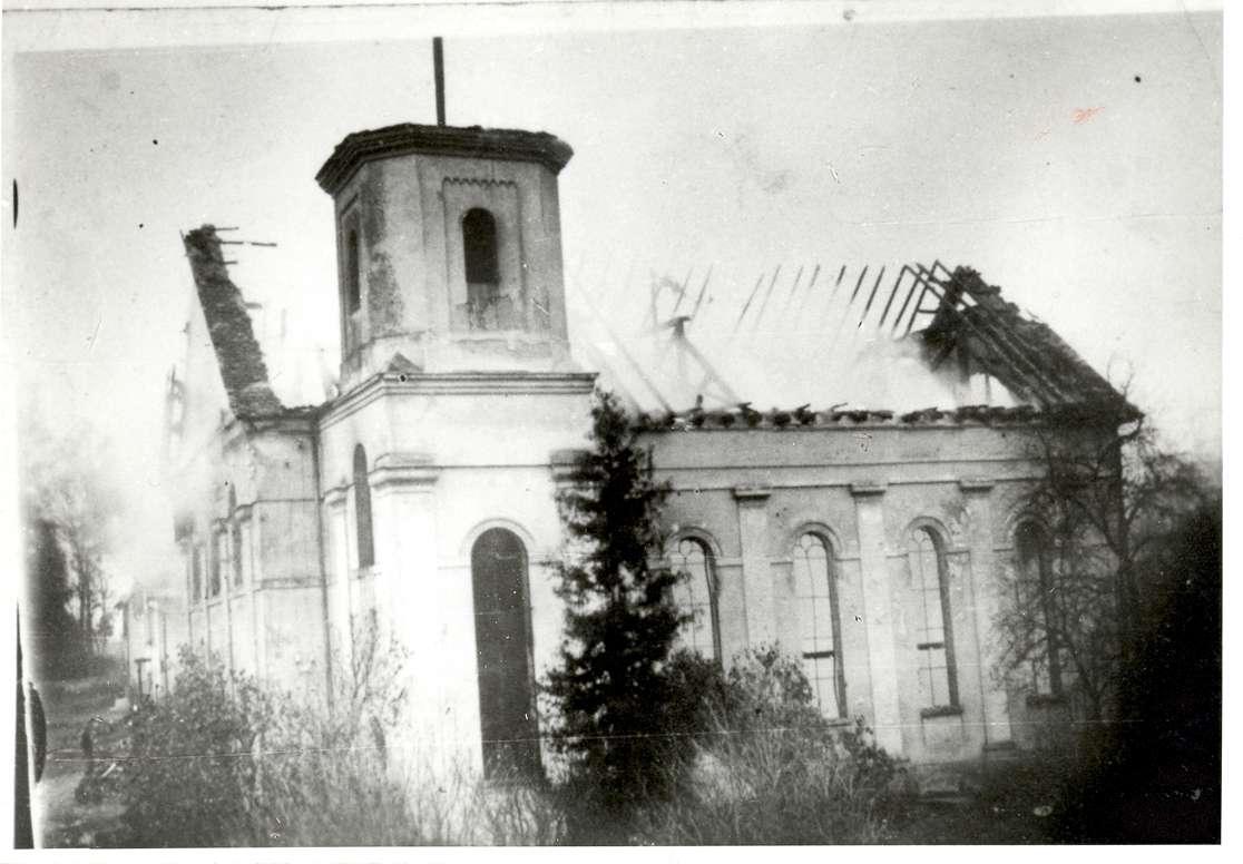 Laupheim, BC; Synagogenbrand, Bild 1