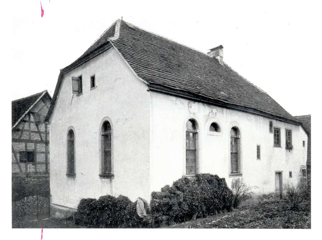Markelsheim, Bad Mergentheim, TBB; Synagoge, Außenansicht, Bild 1