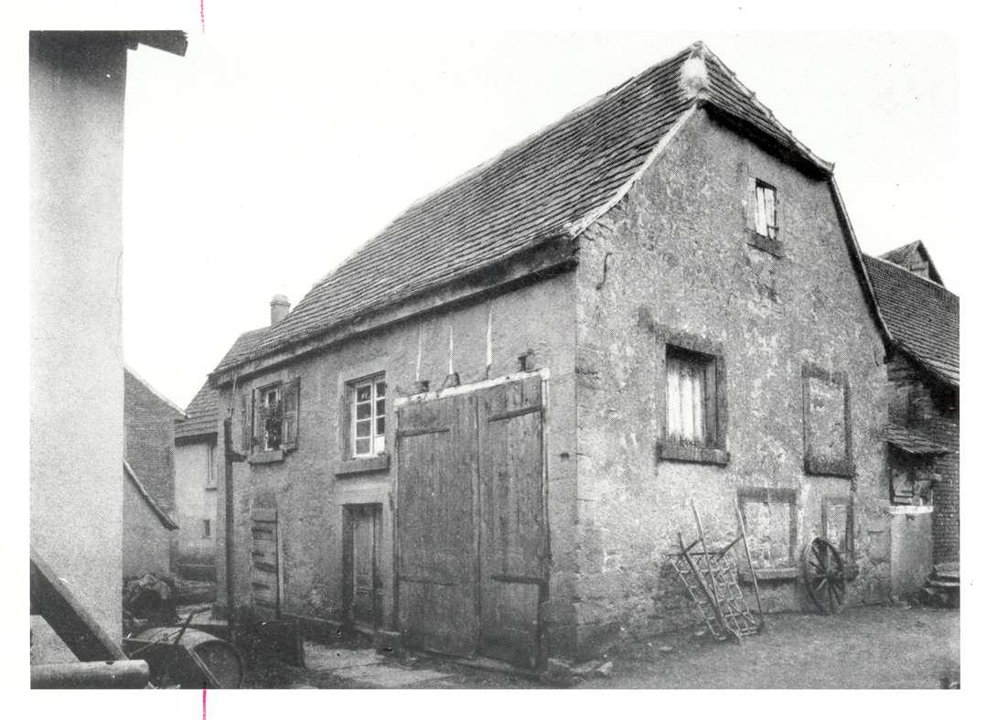 Massenbachhausen, HN; Synagoge, Außenansicht, Bild 1