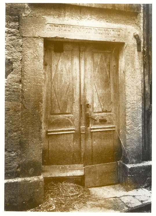 Massenbachhausen, HN; Synagoge, Eingang, Bild 1