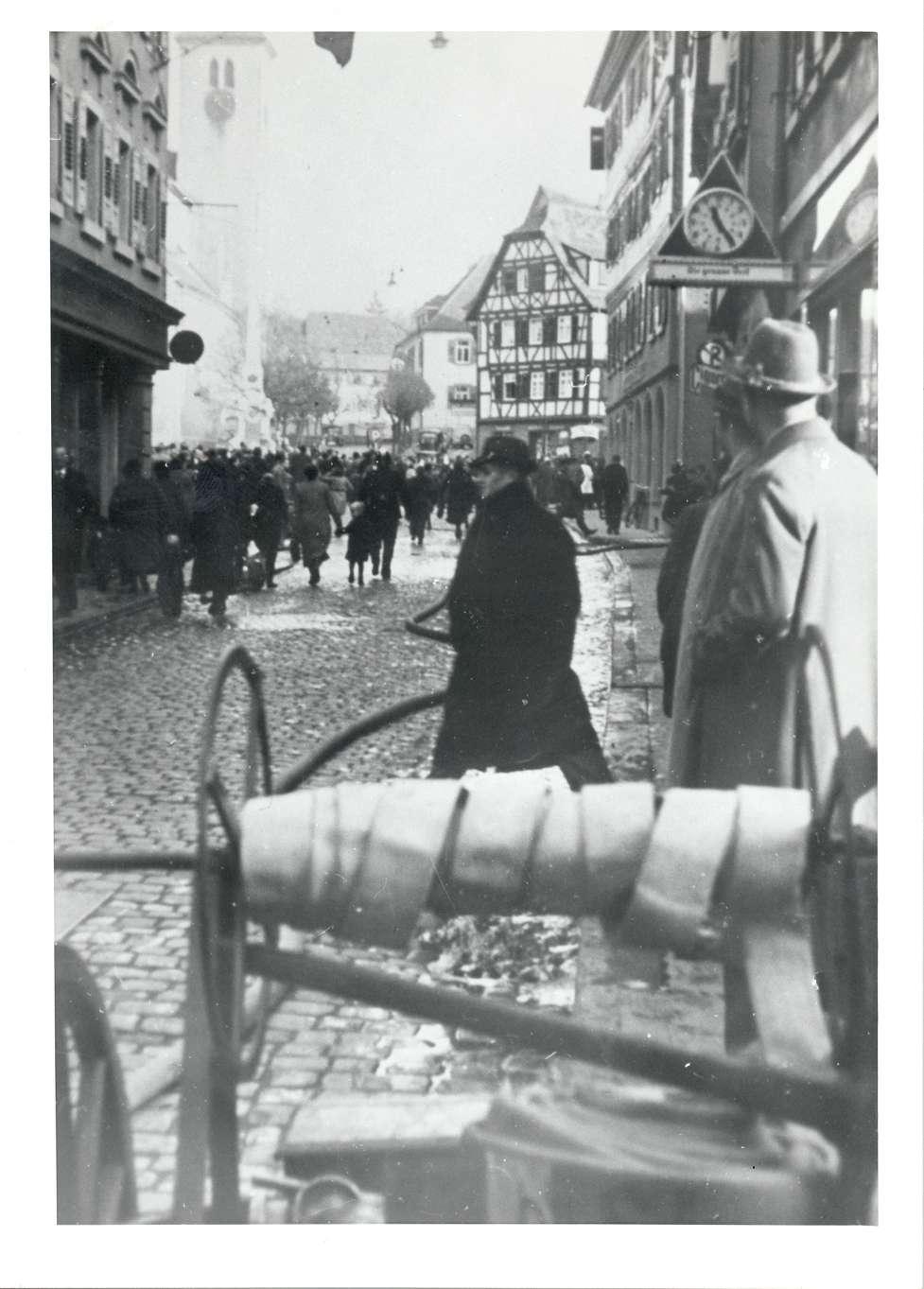 Mosbach, MOS; Reichspogromnacht, Bild 1