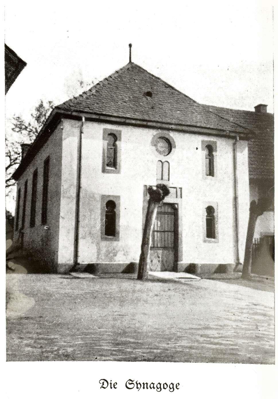 Nonnenweier, Schwanau, OG; Synagoge, Vorderansicht, Bild 1