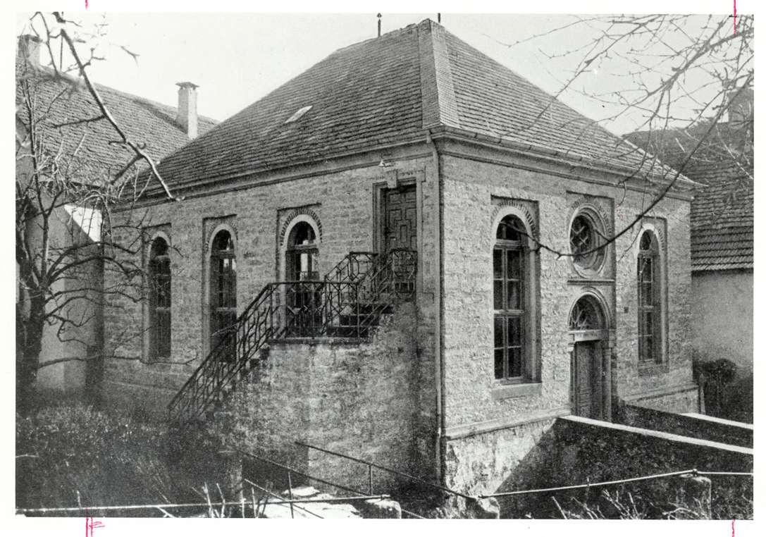 Olnhausen, Jagsthausen, HN; Synagoge, Außenansicht, Bild 1