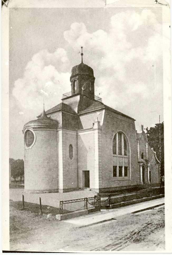 Rastatt, RA; Neue Synagoge, Außenansicht, Bild 1