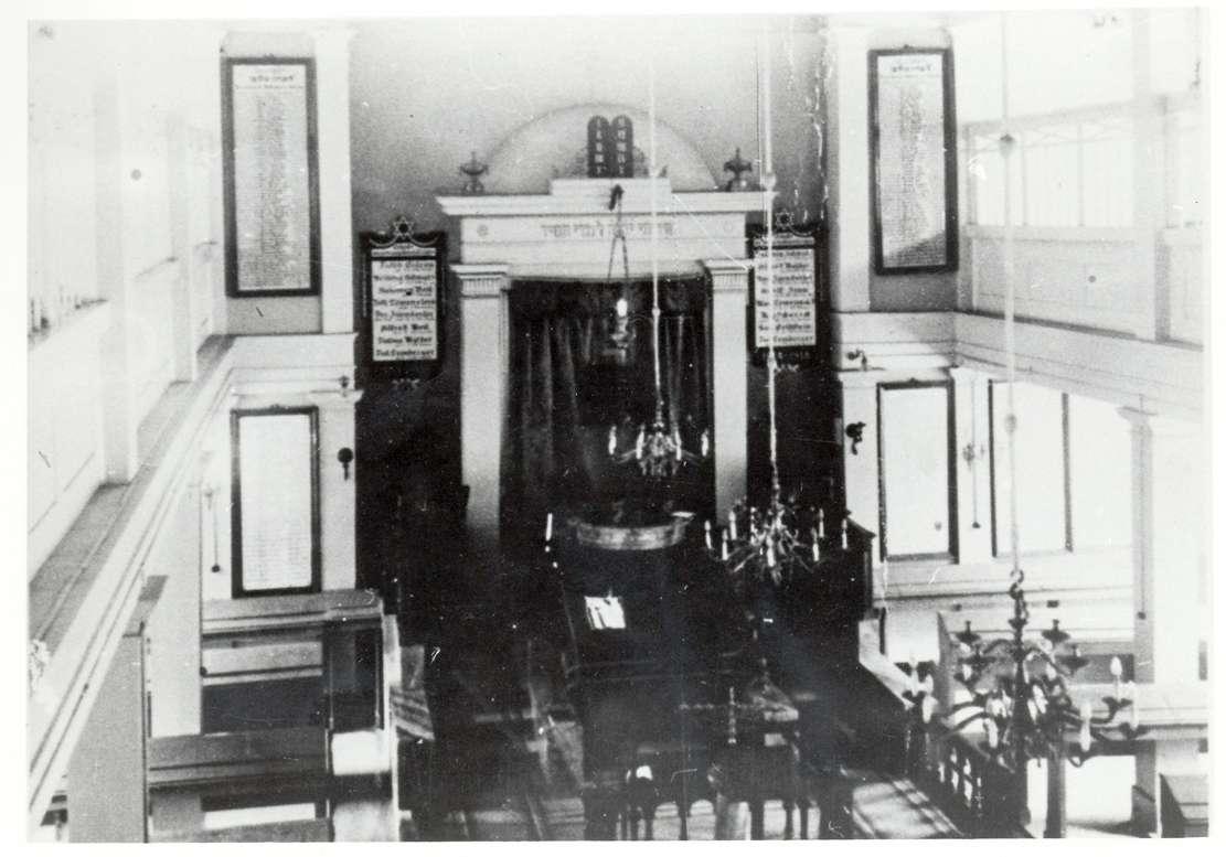 Rexingen, Horb am Neckar, FDS; Synagoge, Innenansicht, Bild 1