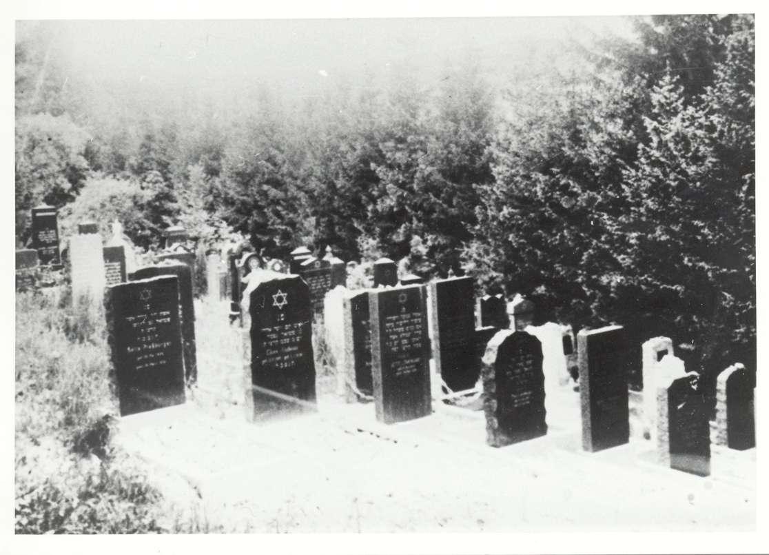 Rexingen, Horb am Neckar, FDS; Jüdischer Friedhof, Gräber, Bild 1