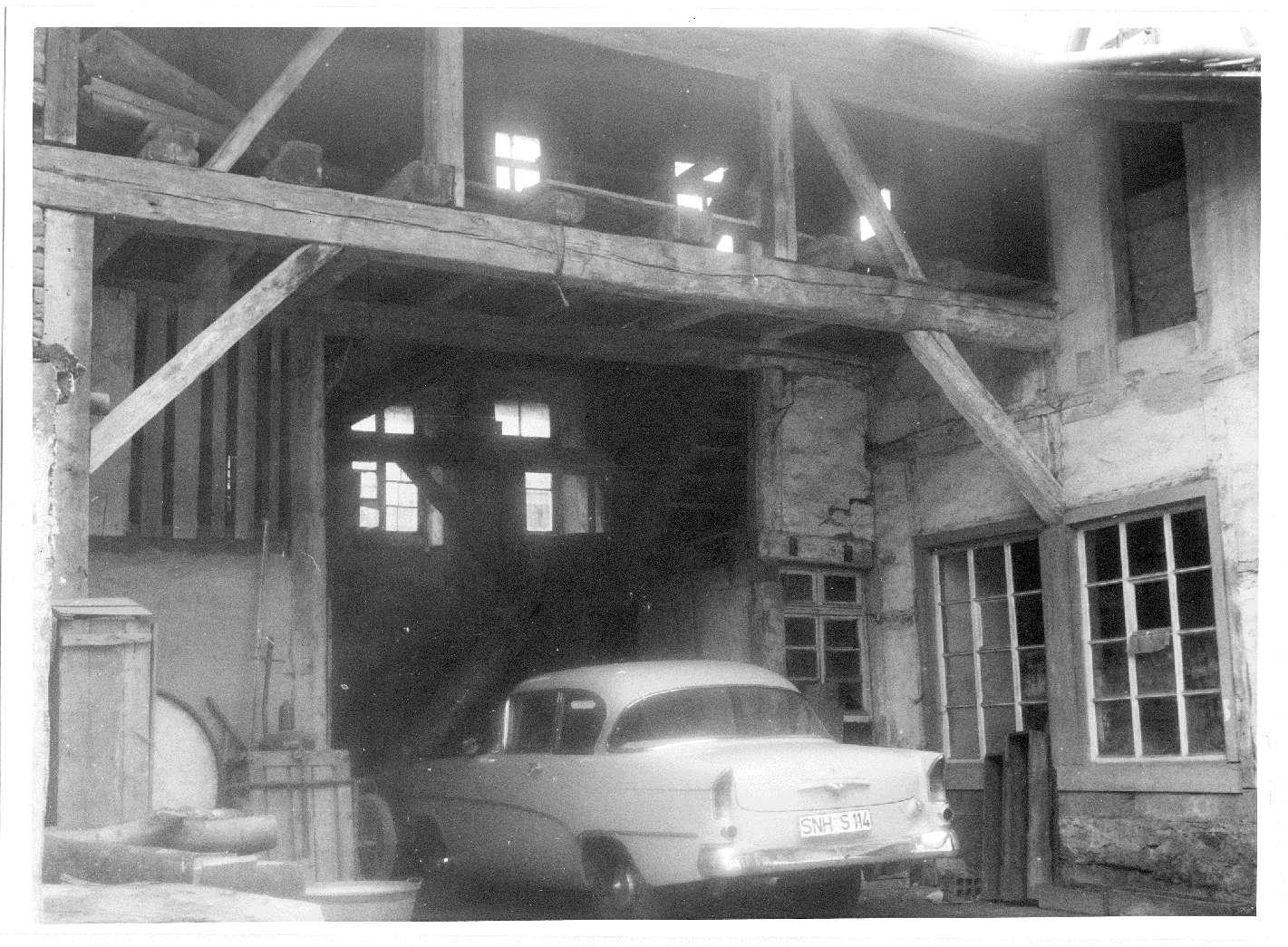 Richen, Eppingen, HN; Ruine der ehemaligen Synagoge, Bild 1