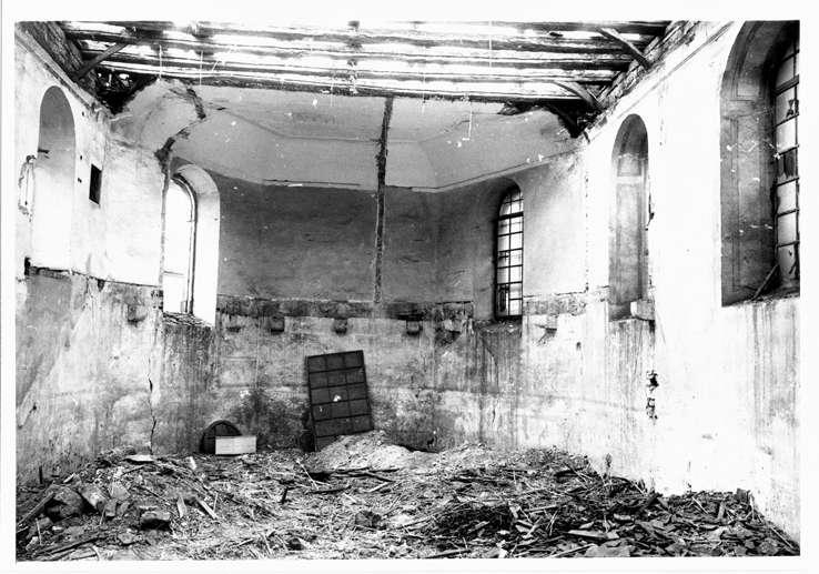 Sandhausen, HD; Ehemalige Synagoge, Innenansicht, Bild 1