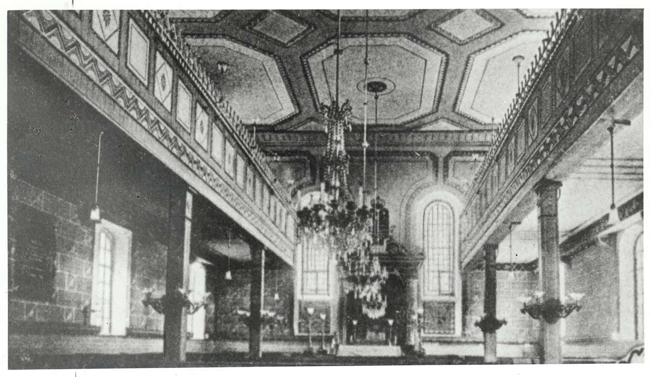 Schmieheim, Kippenheim, OG; Synagoge, Innenansicht, Bild 1