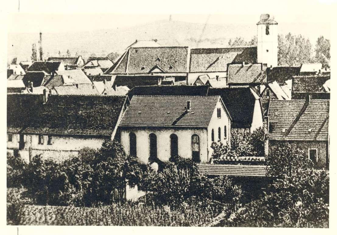Sinsheim, HD; Synagoge, Außenansicht, Bild 1