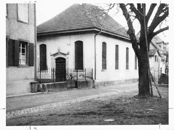 Tiengen/Hochrhein, Waldshut-Tiengen, WT; Synagoge, Außenansicht, Bild 1