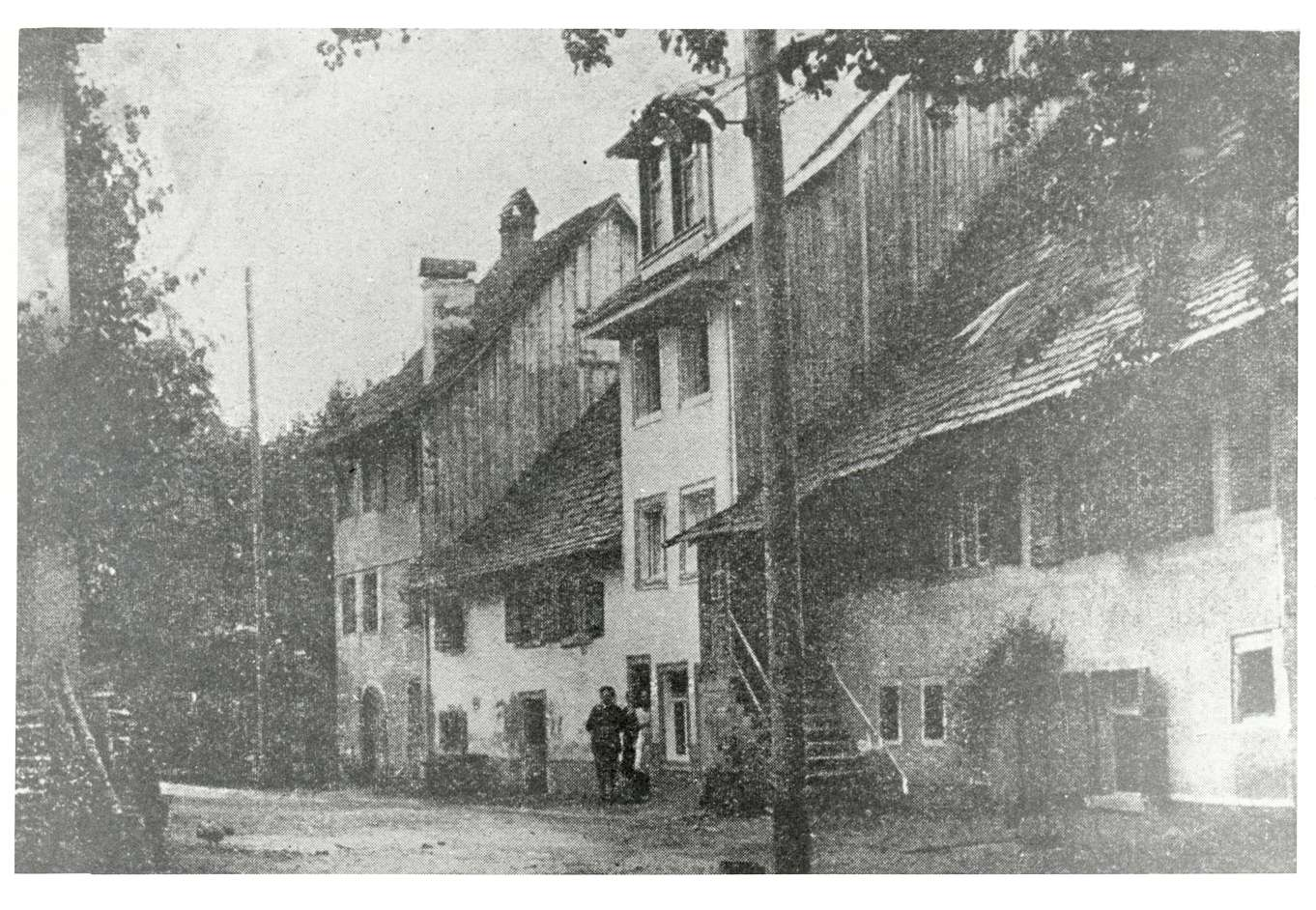 Wangen, Öhningen, KN; Judengasse, Bild 1