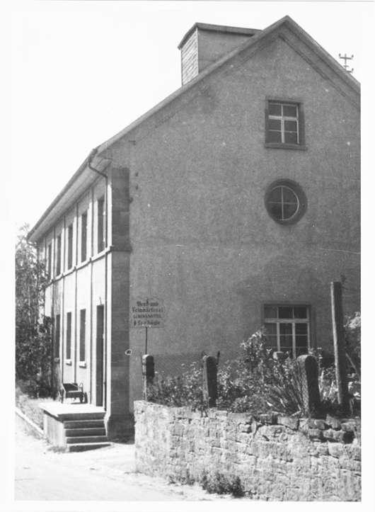 Altdorf, Ettenheim, OG; Ehemalige Synagoge, Rückansicht, Bild 1