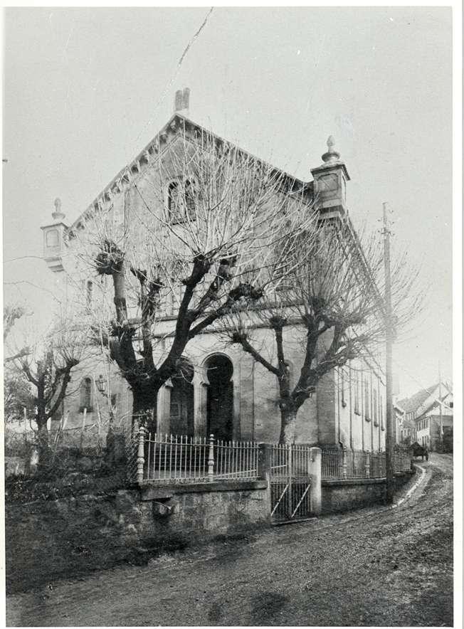 Altdorf, Ettenheim, OG; Synagoge, Vorderansicht, Bild 1