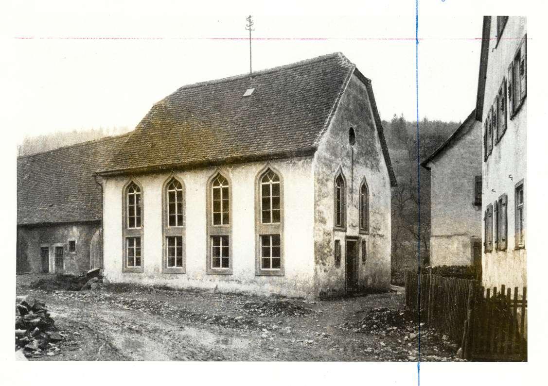 Archshofen, Creglingen, TBB; Synagoge, Außenansicht, Bild 1