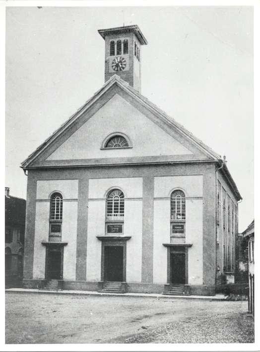 Bad Buchau, BC; Synagoge, Außenansicht, Bild 1