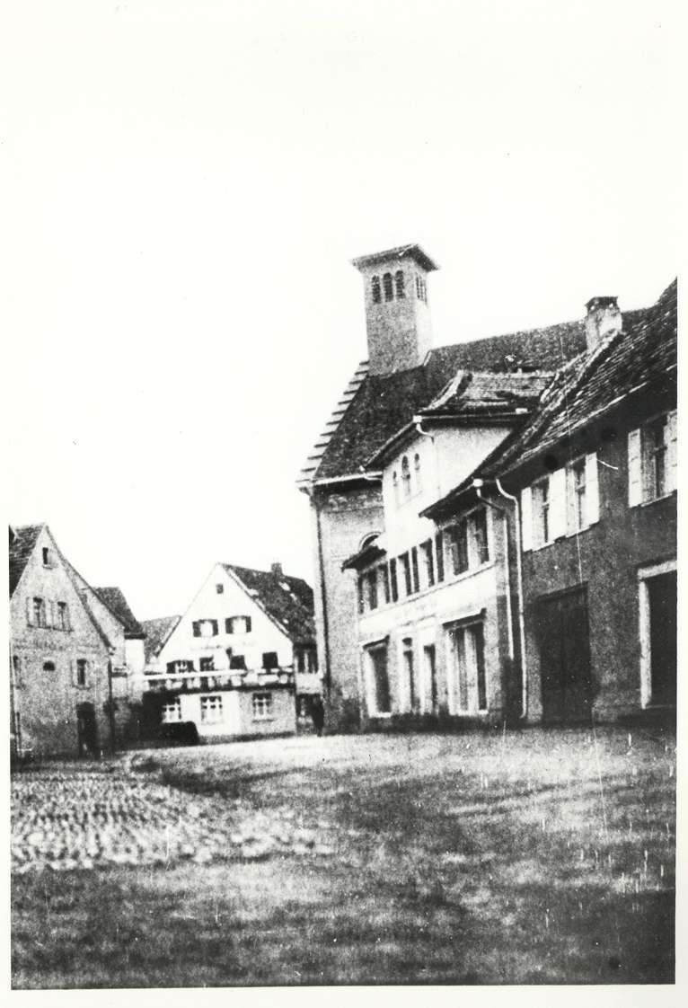 Bad Buchau, BC; Synagoge, Seitenansicht, Bild 1
