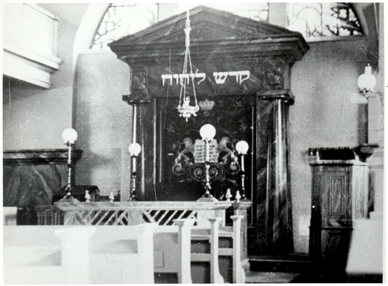 Bretten, KA; Synagoge, Innenansicht, Bild 1