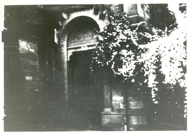 Buchen (Odenwald), MOS; Synagoge, Eingang, Bild 1