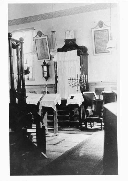 Diersburg, Hohberg, OG; Synagoge, Innenansicht, Bild 1