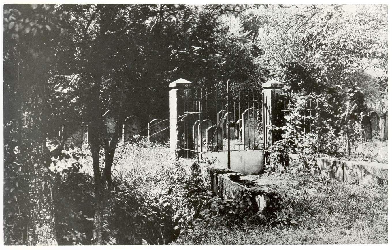 Diersburg, Hohberg, OG; Jüdischer Friedhof, Eingang, Bild 1