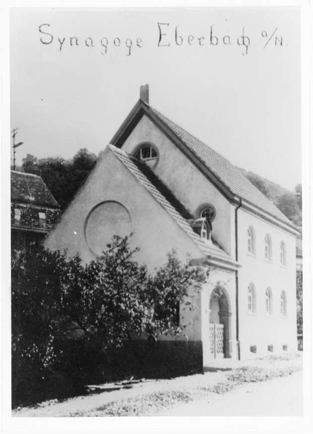 Eberbach, HD; Synagoge, Außenansicht, Bild 1
