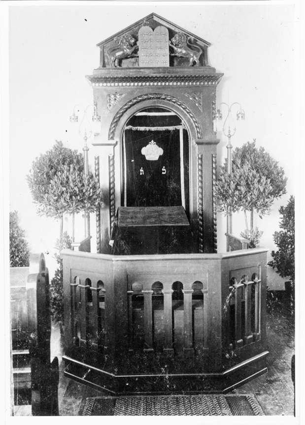Eberbach, HD; Synagoge, Thoraschrein, Bild 1