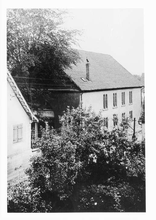 Eichstetten, FR; Synagoge, Außenansicht, Bild 1