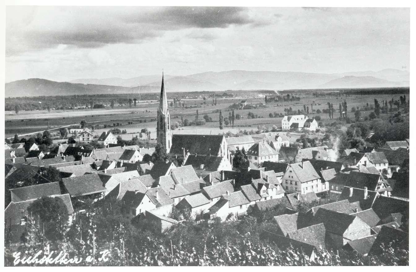 Eichstetten, FR; Ortsansicht, Bild 1