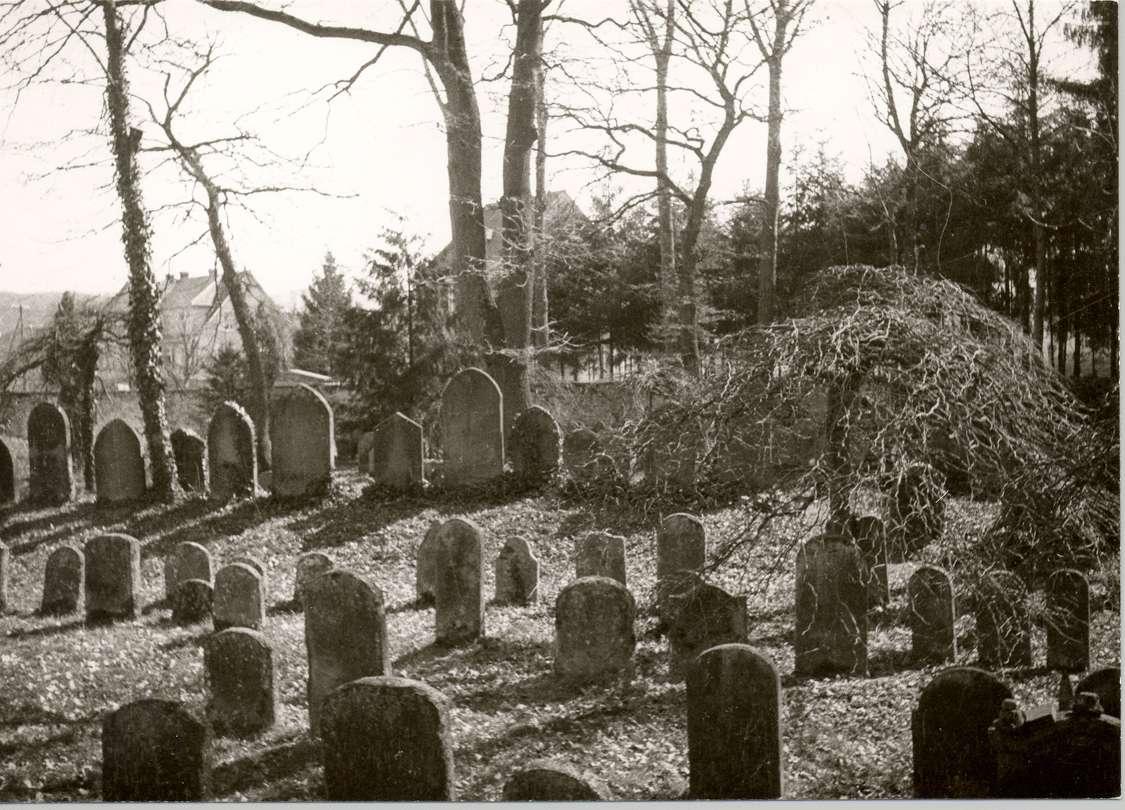 Emmendingen, EM; Alter jüdischer Friedhof, Gräber, Bild 1