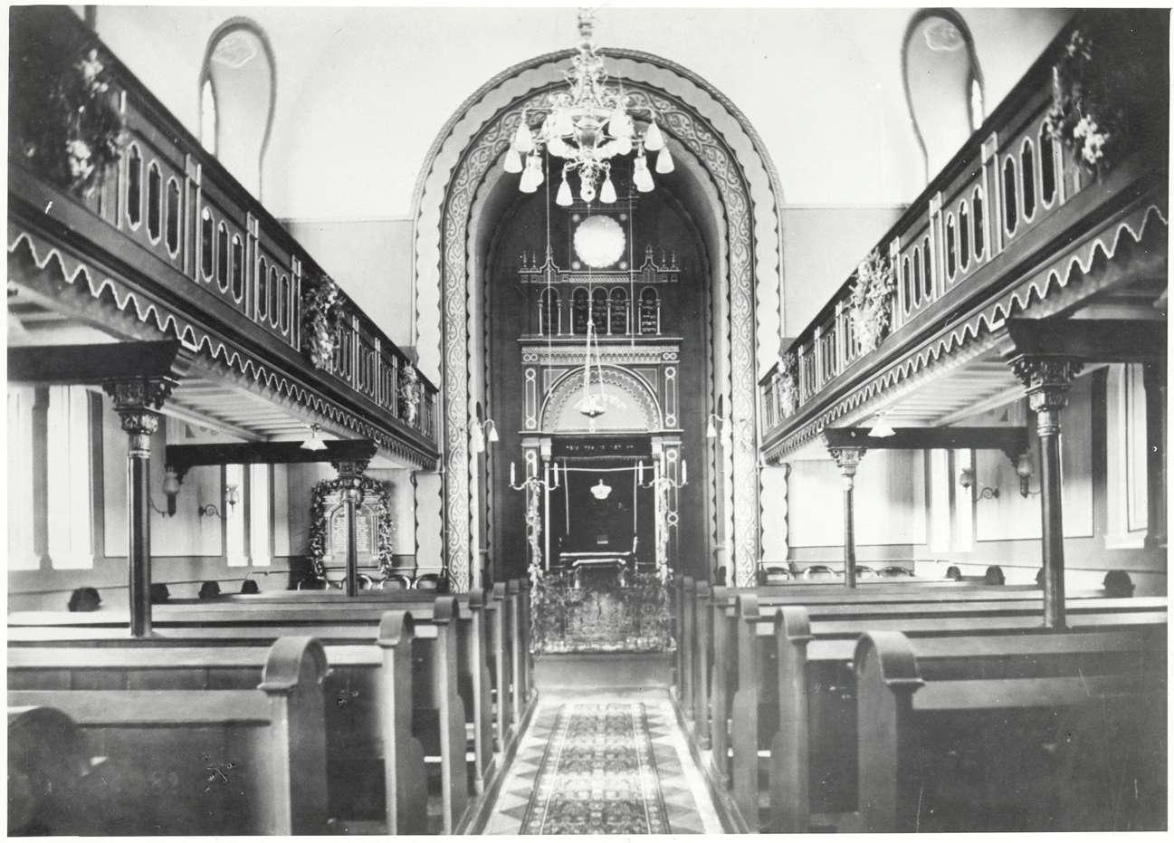 Emmendingen, EM; Synagoge, Innenansicht, Bild 1