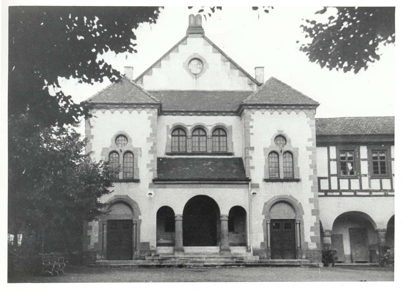 Emmendingen, EM; Synagoge, Außenansicht, Bild 1