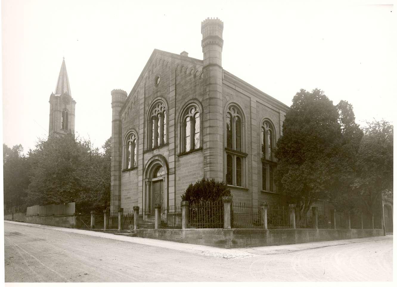 Eppingen, HN; Synagoge, Vorderansicht, Bild 1