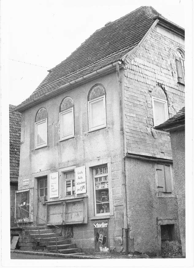 Eschenau, Obersulm, HN; Ehemalige Synagoge, Außenansicht, Bild 1