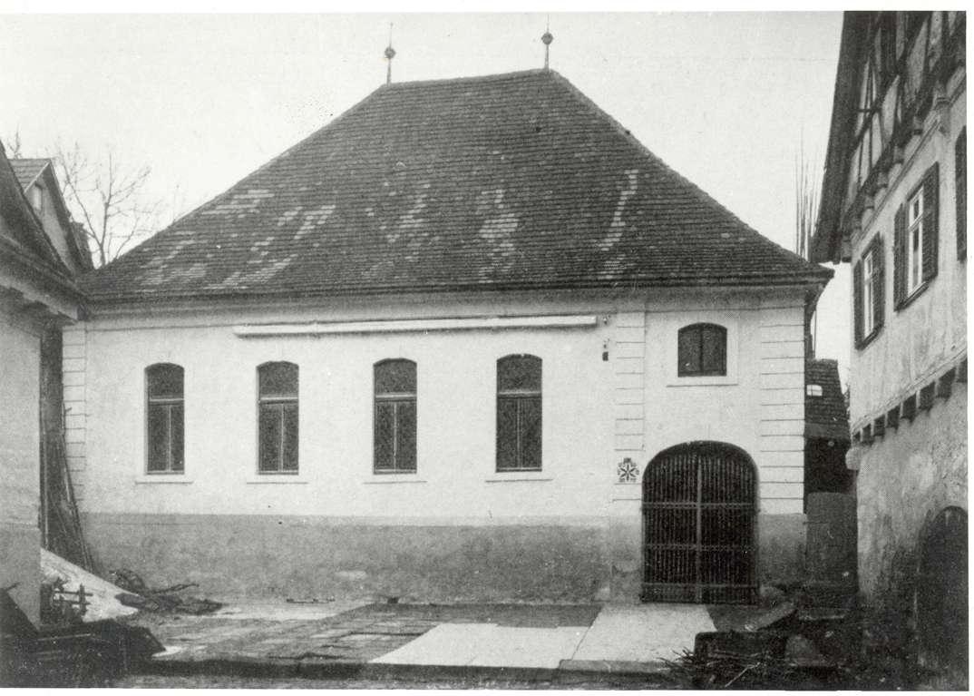 Freudental, LB; Ehemalige Synagoge, Bild 1