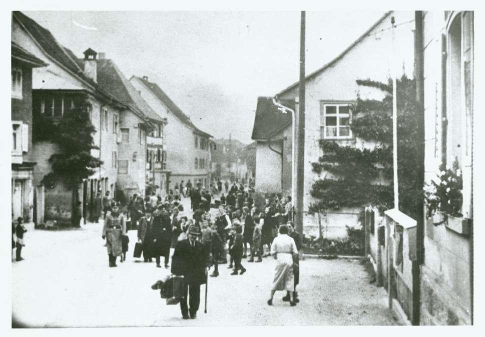 Gailingen, KN; Abtransport von Juden am 22. Oktober 1940, Bild 1