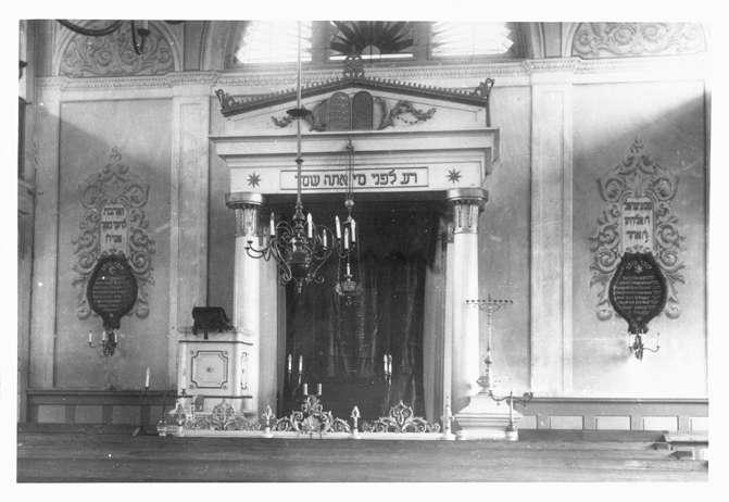 Gailingen, KN; Synagoge, Innenansichten, Bild 1