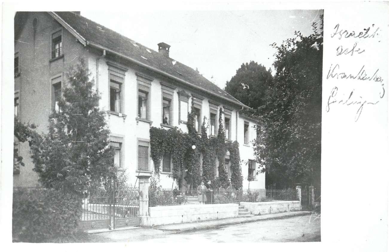 Gailingen, KN; Jüdisches Krankenhaus, Außenansicht, Bild 1