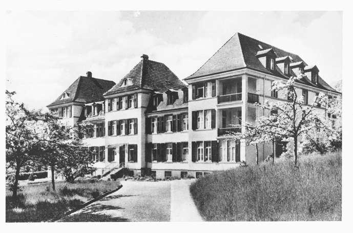 """Gailingen, KN; Jüdisches Altersheim """"Friedrichsheim"""", Bild 1"""