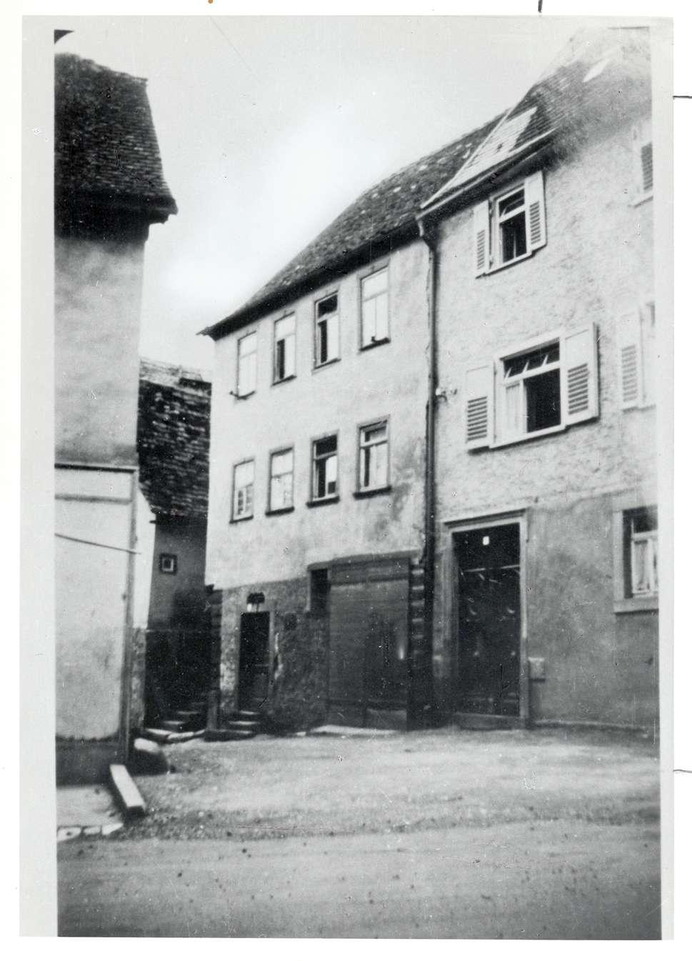Hardheim, MOS; Synagoge, Außenansicht, Bild 1
