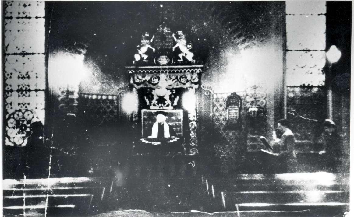 Hechingen, BL; Synagoge, Innenansicht, Bild 1