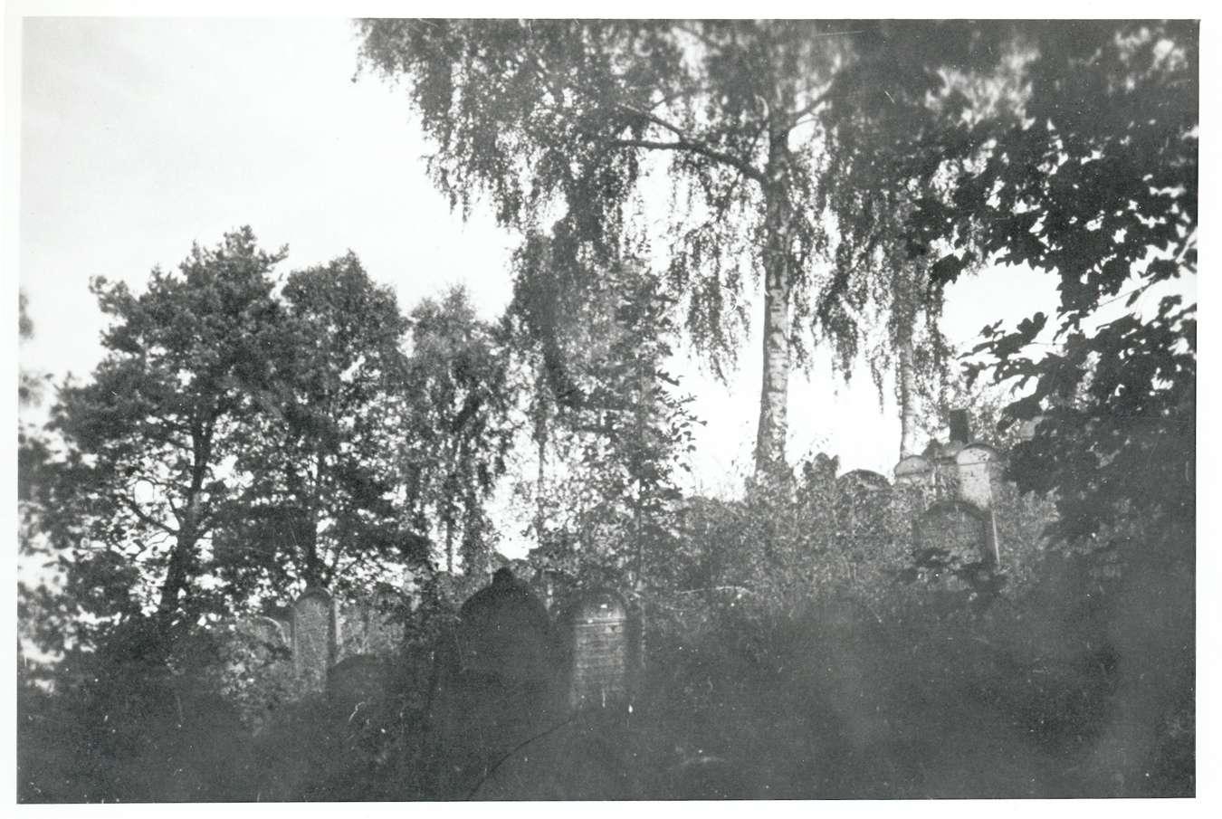 Hemsbach, HD; Jüdischer Friedhof, Gräber, Bild 1