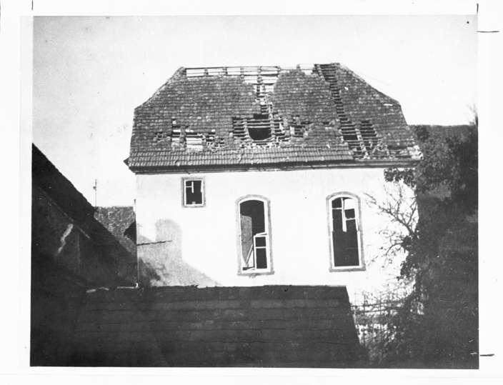 Ittlingen, HN; Ehemalige Synagoge, Außenansicht, Bild 1