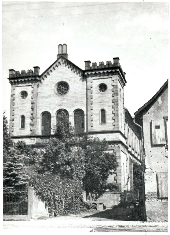 Kippenheim, OG; Ehemalige Synagoge, Vorderansicht, Bild 1